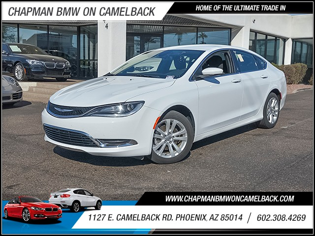 2016 Chrysler 200 Limited 43575 miles Chapman Value Center on Camelback is specializing in late m