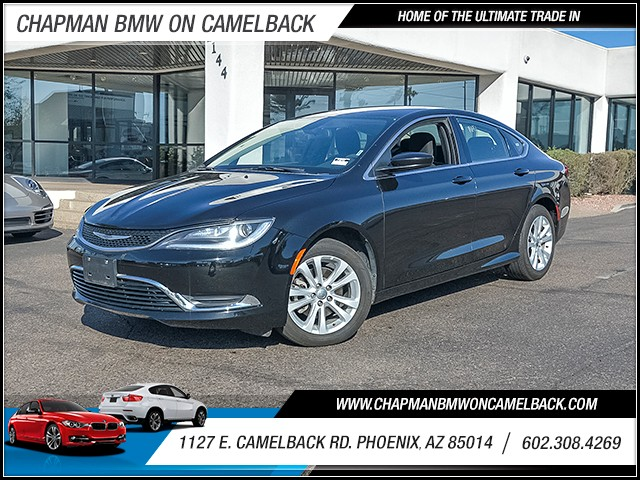 2016 Chrysler 200 Limited 38290 miles Chapman Value Center on Camelback is specializing in late m