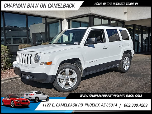 2016 Jeep Patriot Latitude 40282 miles Chapman Value Center on Camelback is specializing in late