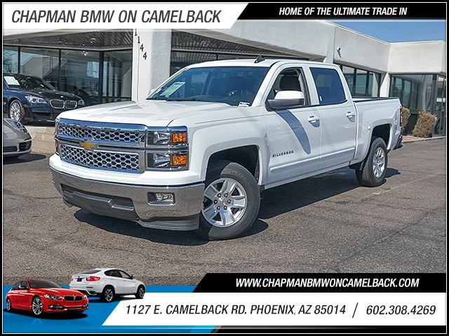 2015 Chevrolet Silverado 1500 LT Crew Cab 29064 miles Wireless data link Bluetooth Wifi hotspot