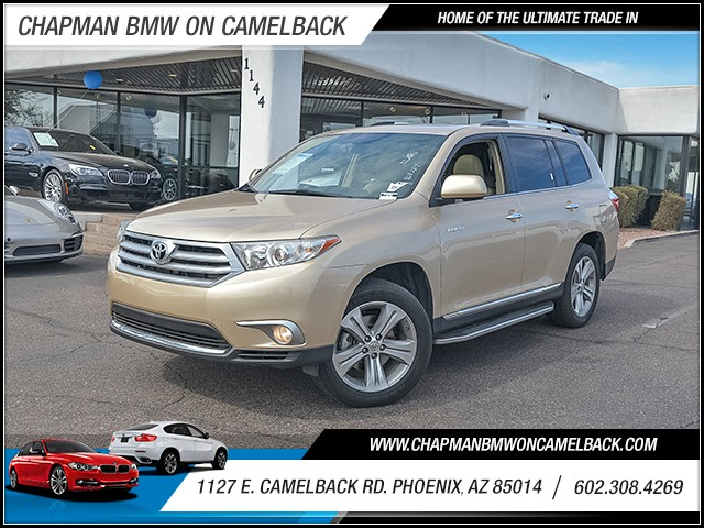 2013 Toyota Highlander Limited 56704 miles Chapman Value Center on Camelback is specializing in l