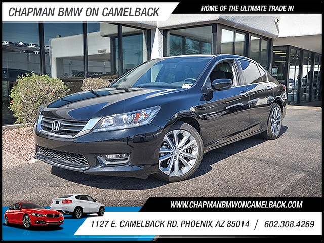2015 Honda Accord Sport 23569 miles Chapman Value Center on Camelback is specializing in late mod