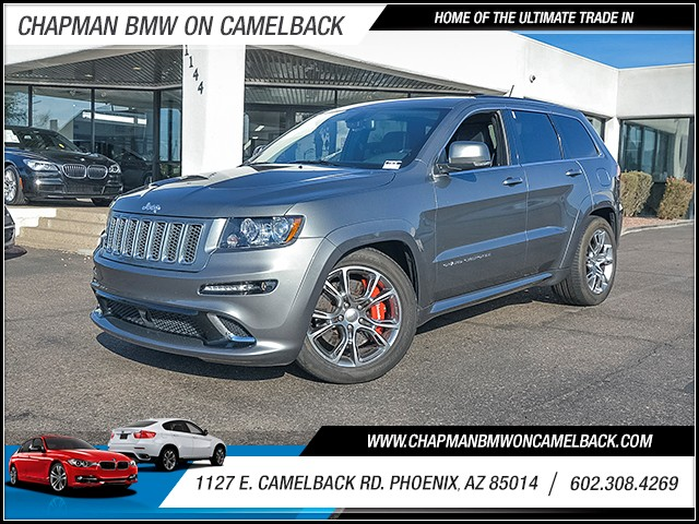 2012 Jeep Grand Cherokee SRT8 39003 miles Chapman Value Center on Camelback is specializing in la