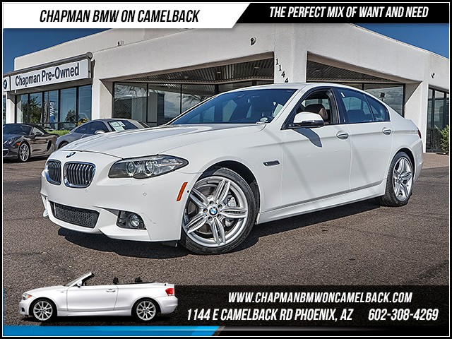 2015 BMW 5-Series 535i 20622 miles 6023852286 Chapman BMW on Camelback CPO Sales Event Ov