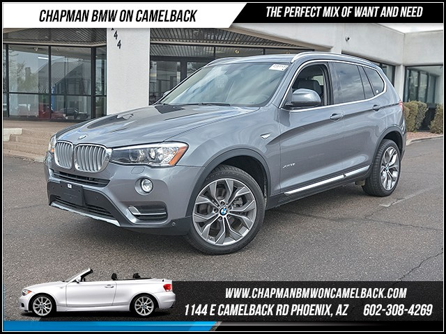 2017 BMW X3 xDrive35i 9821 miles X Line Driver Assistance Package Technology Package Cold Weat