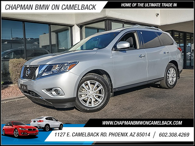 2016 Nissan Pathfinder SV 17680 miles Chapman Value Center on Camelback is specializing in late m