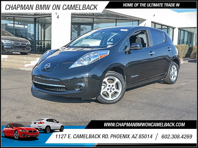 2015 Nissan LEAF SV 25452 miles Chapman Value Center on Camelback is specializing in late model c