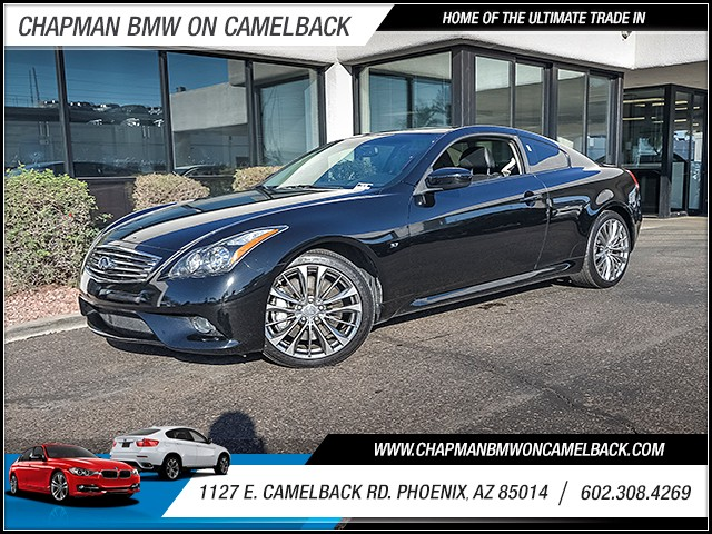 2014 INFINITI Q60 Sport 34388 miles Chapman Value Center on Camelback is specializing in late mod