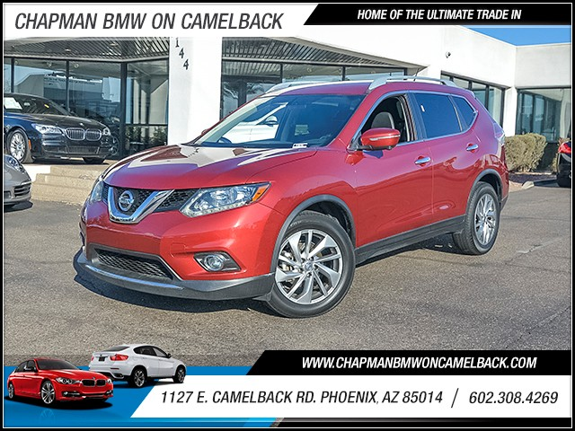 2014 Nissan Rogue SL 41689 miles Chapman Value Center on Camelback is specializing in late model