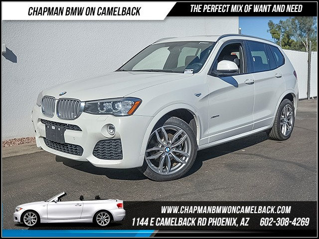2017 BMW X3 xDrive35i 11441 miles M Sport Package Technology Package Driver Assist Package Col