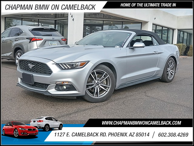 2017 Ford Mustang EcoBoost Premium 42245 miles 6023852286 Chapman Value Center in Phoenix sp