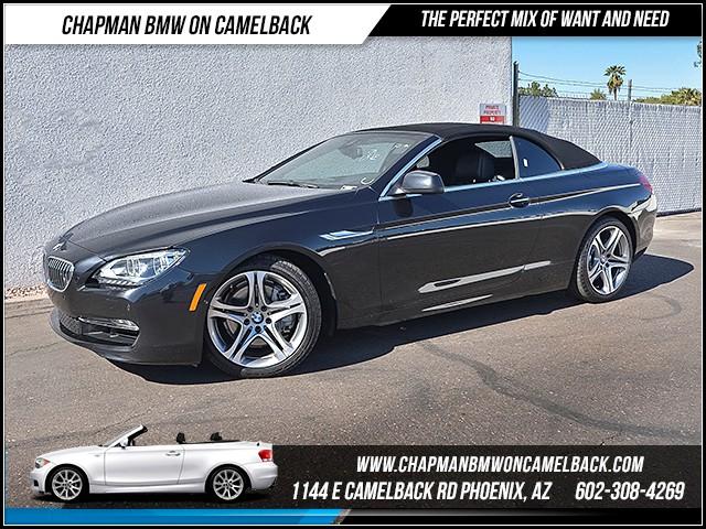 2014 BMW 6-Series 650i 29204 miles 1127 E Camelback Rd 6023852286 Under Construction Sales Ev
