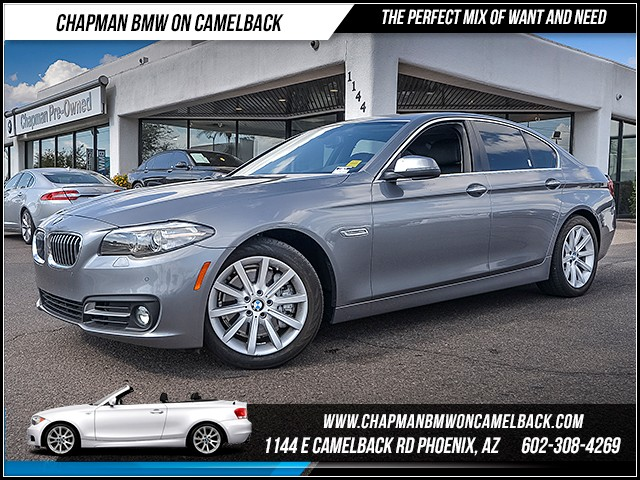 2015 BMW 5-Series 535i 42808 miles Chapman Value Center on Camelback is specializing in late mode