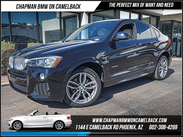 2015 BMW X4 xDrive35i 51585 miles 6023852286 - 12th St and Camelback Chapman BMW on Camelback
