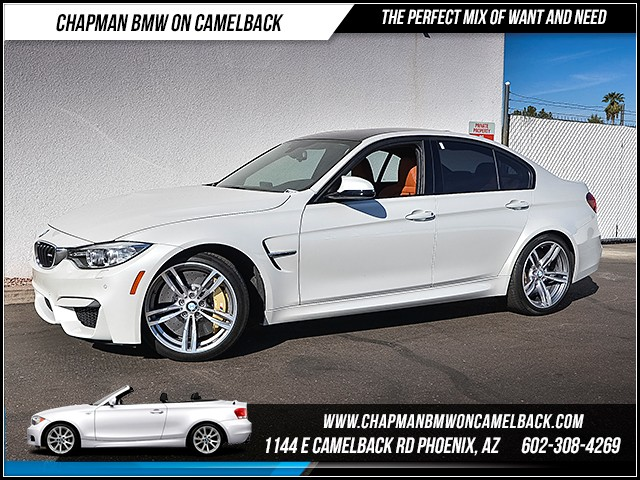 2016 BMW M3 12631 miles Chapman Value Center on Camelback is specializing in late model clean pre