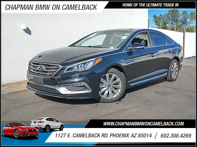 2015 Hyundai Sonata Limited 13385 miles Chapman Value Center on Camelback is specializing in late