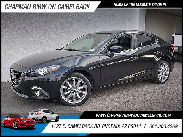 2015 Mazda MAZDA3 s Grand Touring 17088 miles Wireless data link Bluetooth Electronic messaging