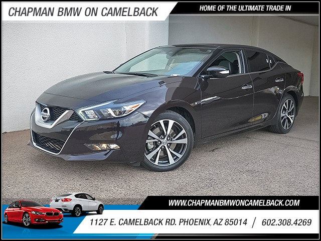 2016 Nissan Maxima 35 SL 39336 miles 6023852286 Chapman Value Center in Phoenix specializin