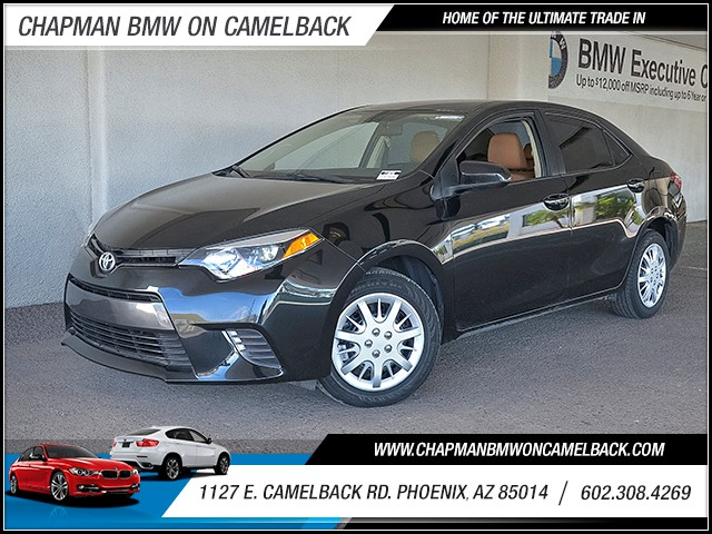 2016 Toyota Corolla LE 33892 miles 6023852286 Chapman Value Center in Phoenix specializing i