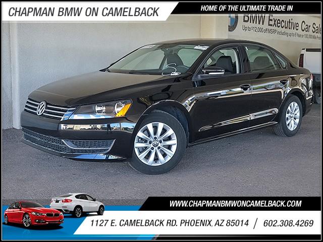 2013 Volkswagen Passat S PZEV 31163 miles 6023852286 Chapman Value Center in Phoenix special