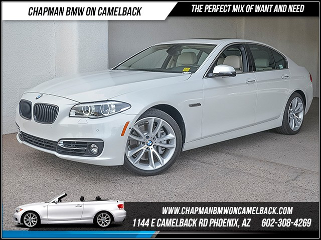 2015 BMW 5-Series 535i 24166 miles Luxury Package Premium Package Driver As
