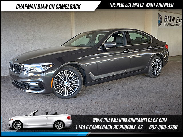 2017 BMW 5-Series 540i 8226 miles Sport Line Cold Weather Package Driving Assistance Package P