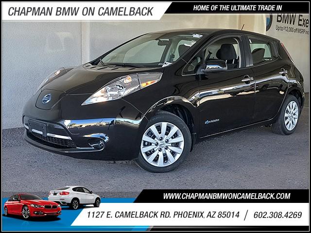 2015 Nissan LEAF S 13028 miles 6023852286 Chapman Value Center in Phoenix specializing in la