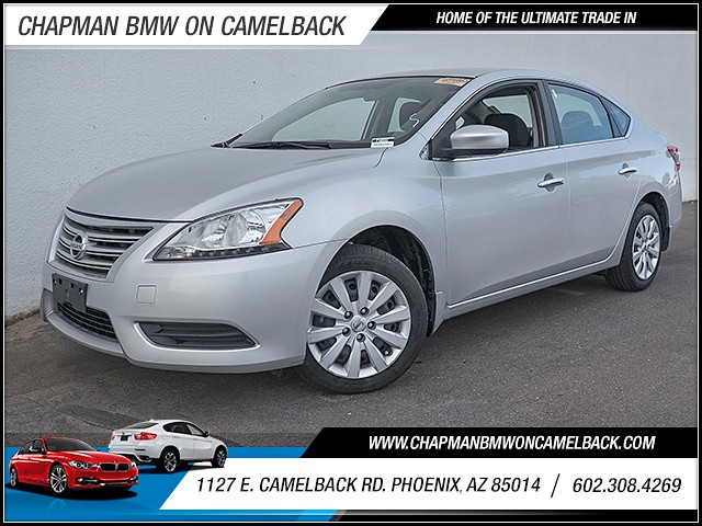 2015 Nissan Sentra SV 32789 miles 6023852286 Chapman Value Center in Phoenix specializing in