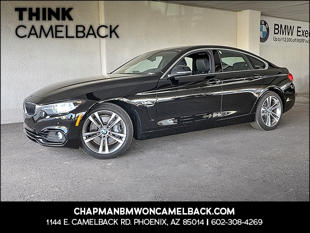 2018 BMW 4-Series 440i Gran Coupe 9731 miles Presidents Day Weekend Sale at Chapman BMW on Camelb