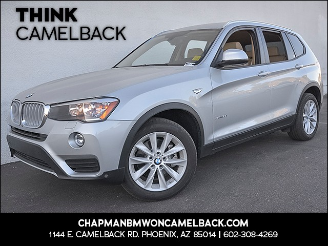 2015 BMW X3 sDrive28i 17171 miles Presidents Day Weekend Sale at Chapman BMW on Camelback Extra