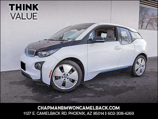 2016 BMW i3 Rex 2317 miles Presidents Day Weekend Sale at Chapman BMW on Camelback Extra Incenti