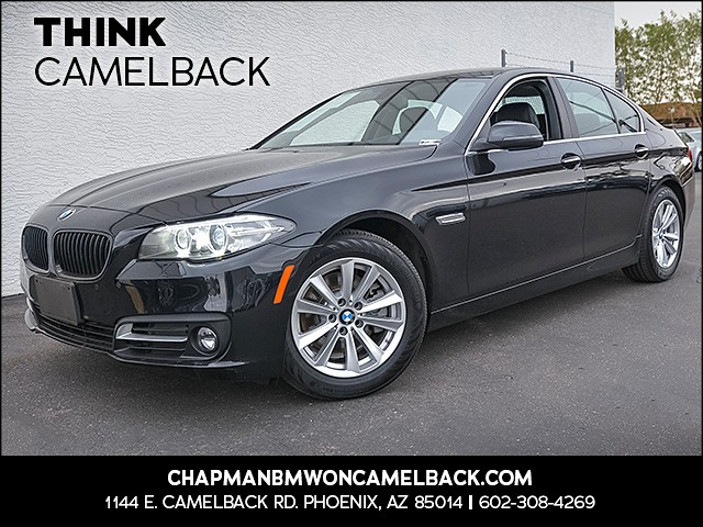 2015 BMW 5-Series 528i 25605 miles Presidents Day Weekend Sale at Chapman BMW on Camelback Extra