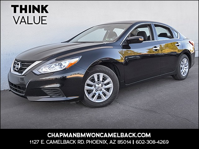 2017 Nissan Altima 25 S 37056 miles Wireless data link Bluetooth Cruise control 2-stage unlock