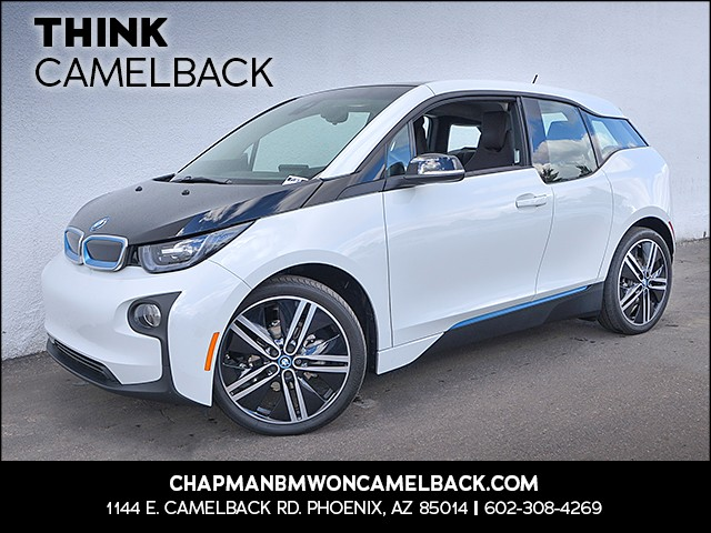 2015 BMW i3 Rex Tera World 16545 miles Presidents Day Weekend Sale at Chapman BMW on Camelback E