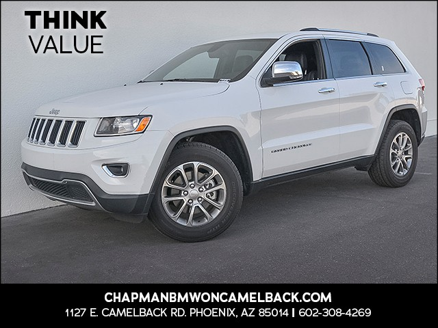 2014 Jeep Grand Cherokee Limited 58996 miles Phone hands free Wireless data link Bluetooth Crui