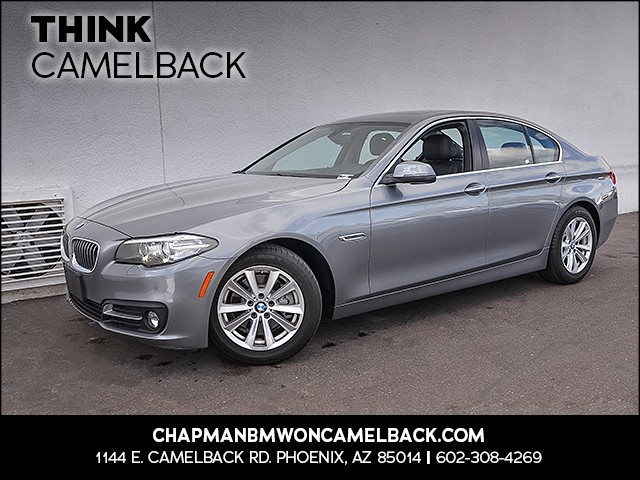 2015 BMW 5-Series 528i 24303 miles Presidents Day Weekend Sale at Chapman BMW on Camelback Extra