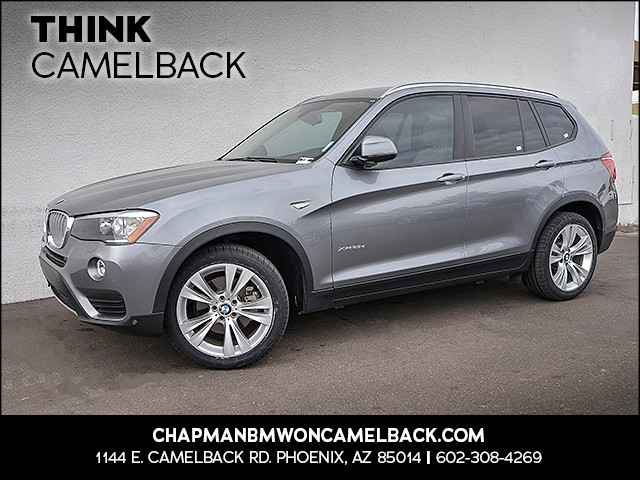 2015 BMW X3 xDrive28d 31155 miles Presidents Day Weekend Sale at Chapman BMW on Camelback Extra