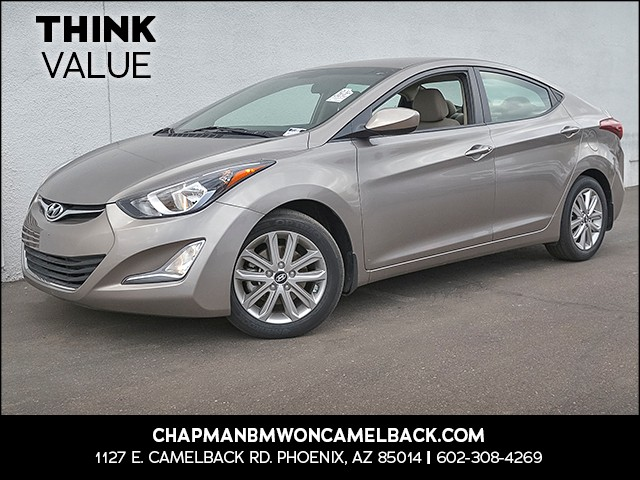 2015 Hyundai Elantra SE 34217 miles Cruise control Anti-theft system alarm with remote 2-stage