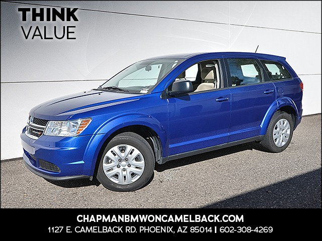 2015 Dodge Journey American Value Package 26743 miles Cruise control 2-stage unlocking doors St