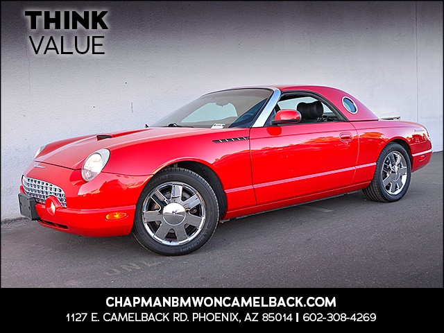 2002 Ford Thunderbird Deluxe 22876 miles 6023852286 Chapman Value Center in Phoenix speciali