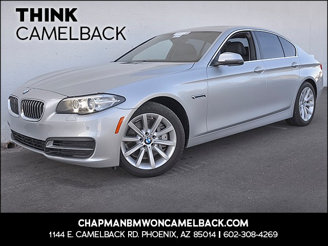 2014 BMW 5-Series 535d 29726 miles Presidents Day Weekend Sale at Chapman BMW on Camelback Extra