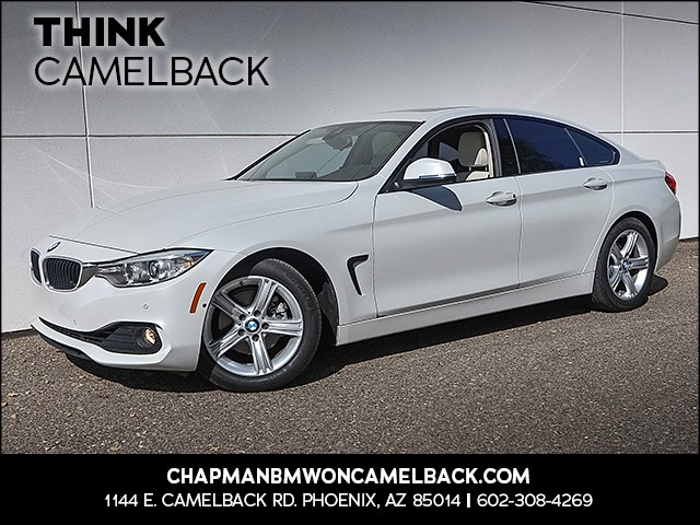 2015 BMW 4-Series 428i Gran Coupe 37657 miles Satellite communications BMW Assist Driver assista