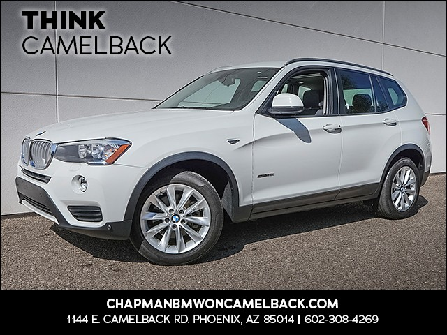 2015 BMW X3 sDrive28i 22873 miles 1144 E Camelback Rd 6023852286 GRAND OPENING SALE at the al