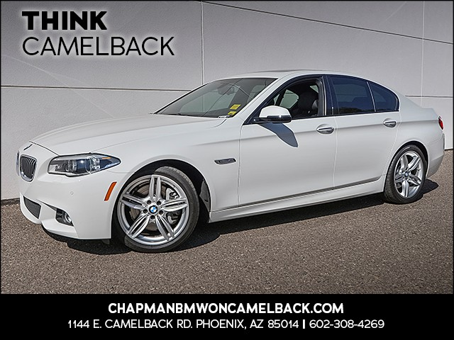 2015 BMW 5-Series 535i 38529 miles M Sport Package Premium Package Driving Assistance Package