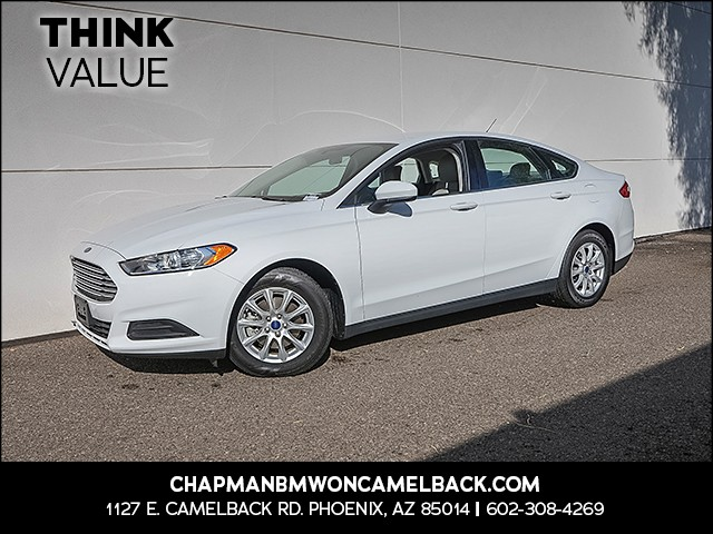 2015 Ford Fusion S 19616 miles Wireless data link Bluetooth Cruise control