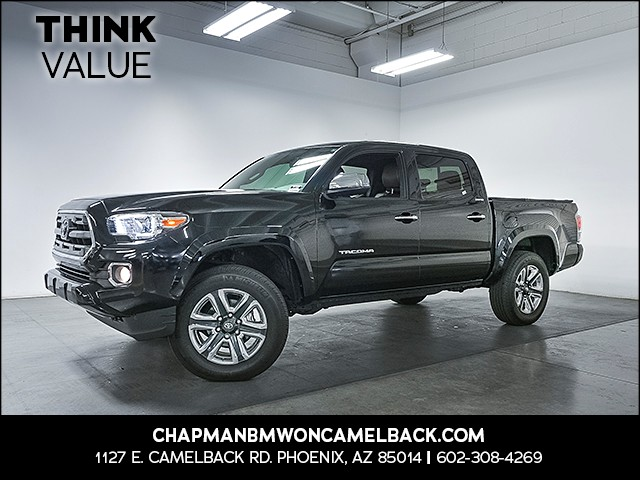 2016 Toyota Tacoma Limited Crew Cab 27738 miles 6023852286 Chapman Value Center in Phoenix s