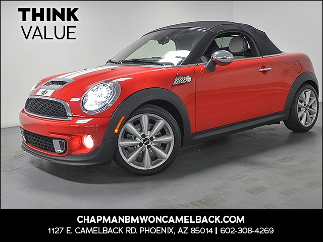 2013 MINI Cooper S  Roadster 32107 miles Wireless data link Bluetooth Phone hands free Cruise c