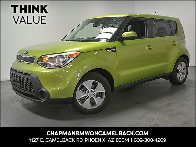 2015 Kia Soul 37688 miles Wireless data link Bluetooth Steering wheel tilt and telescopic Rear