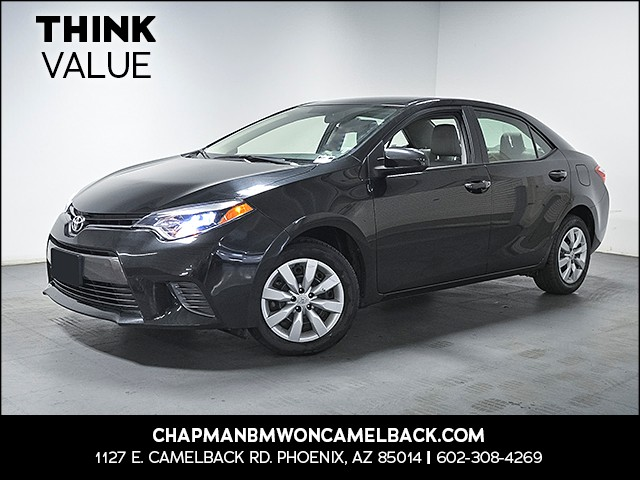 2016 Toyota Corolla LE 38551 miles Wireless data link Bluetooth Cruise control 2-stage unlockin