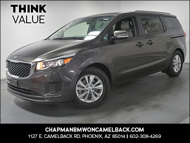2017 Kia Sedona LX 48313 miles Cruise control Power door locks auto-locking 2-stage unlocking